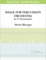 Image for Percussion Orchestra - Martin Blessinger [DIGITAL]