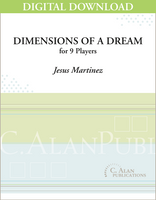 Dimensions of a Dream - Jesus Martinez [DIGITAL SCORE]