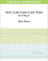 You Can Can-Can Too - Matt Moore [DIGITAL SCORE]
