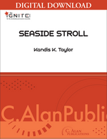Seaside Stroll - Kandis Taylor [DIGITAL SCORE]