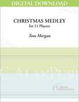 Christmas Medley - Tom Morgan [DIGITAL SCORE]
