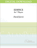 Edifice - David Jarvis [DIGITAL SCORE]