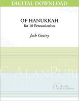 Of Hanukkah (PE) - Josh Gottry [DIGITAL SCORE]