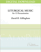 Liturgical Music - David R. Gillingham [DIGITAL SCORE]
