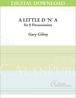 A Little D 'n' A - Gary Gilroy [DIGITAL SCORE]