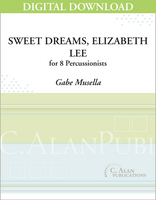 Sweet Dreams, Elizabeth Lee - Gabe Musella [DIGITAL SCORE]