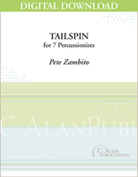 Tailspin - Pete Zambito [DIGITAL SCORE]