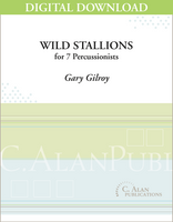 Wild Stallions - Gary Gilroy [DIGITAL SCORE]