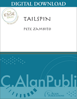 Tailspin (percussion ensemble)- Pete Zambito [DIGITAL SCORE]