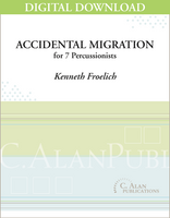 Accidental Migration - Kenneth Froelich [DIGITAL SCORE]