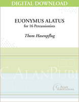 Euonymus Alatus - Thom Hasenpflug [DIGITAL SCORE]