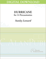 Hurricane - Stanley Leonard [DIGITAL SCORE]