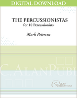 The Percussionistas - Mark Petersen [DIGITAL SCORE]