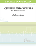 Quakers and Conures - Rodney Money [DIGITAL SCORE]