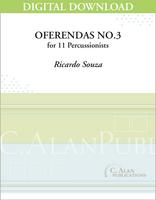 Oferendas No. 3 - Ricardo Souza [DIGITAL SCORE]