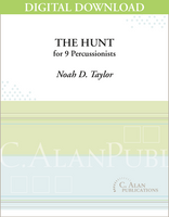 The Hunt - Noah D. Taylor [DIGITAL SCORE]