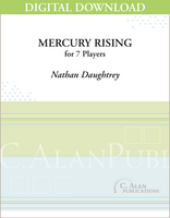 Mercury Rising (Perc Ens 7) - Nathan Daughtrey [DIGITAL]