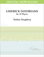 Limerick Daydreams (percussion ensemble) [DIGITAL SCORE]