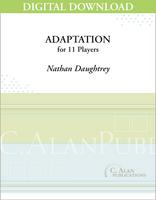 Adaptation - Nathan Daughtrey [DIGITAL SCORE]