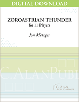 Zoroastrian Thunder - Jon Metzger [DIGITAL SCORE}