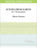 Scenes from Earth - Mario Gaetano [DIGITAL]