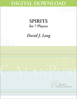 Spirits - David J. Long [DIGITAL SCORE]