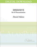 Dissolve - Daniel Adams [DIGITAL]