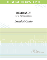 Rimbasly (percussion ensemble) - Daniel McCarthy [DIGITAL SCORE]