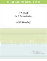 Taiko - Scott Harding [DIGITAL SCORE]