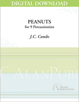 Peanuts - J.C. Combs [DIGITAL SCORE]