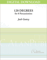 120 Degrees - Josh Gottry [DIGITAL SCORE]