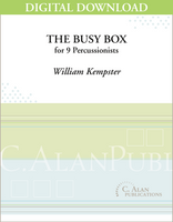 The Busy Box - William Kempster [DIGITAL SCORE]