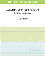 Aware of Discussion - Steve Riley [DIGITAL SCORE]