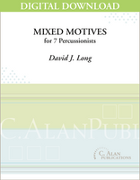 Mixed Motives - David J. Long [DIGITAL SCORE]