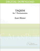Taqsim - Scott Meister [DIGITAL SCORE]