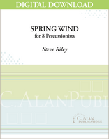 Spring Wind - Steve Riley [DIGITAL SCORE]