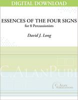 Essences of the Four Signs - David J. Long [DIGITAL SCORE]