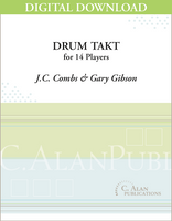 Drum Takt - J.C. Combs [DIGITAL SCORE]