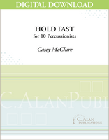 Hold Fast - Casey McClure [DIGITAL SCORE]