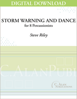 Storm Warning and Dance - Steve Riley [DIGITAL SCORE]