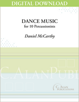 Dance Music - Daniel McCarthy [DIGITAL SCORE]