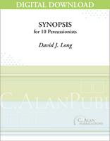 Synopsis - David J. Long [DIGITAL SCORE]