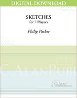 Sketches - Philip Parker [DIGITAL SCORE]