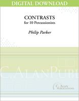 Contrasts - Philip Parker [DIGITAL SCORE]