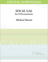 SoCal Gal - Michael Huestis [DIGITAL SCORE]