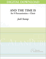 And the Time Is - Jack Stamp [DIGITAL SCORE]