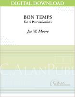 Bon Temps - Joe W. Moore [DIGITAL SCORE]