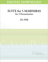 Suite for 5 Marimbas - Kit Mills [DIGITAL]