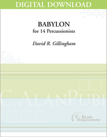 Babylon - David R. Gillingham [DIGITAL SCORE]