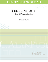 Celebration II - Daiki Kato [DIGITAL SCORE]